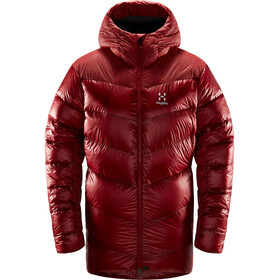 Haglöfs Magi Down Hood Dame Brick Red